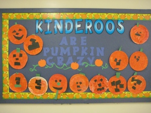 Kindergarten Pumpkin Activities