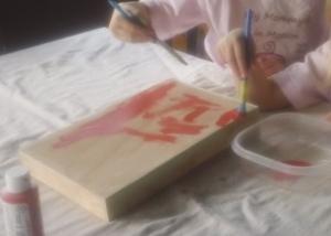 painting clock